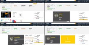 Nieuw business model voor online drukkers… Vistaprint test via Amazon.com!