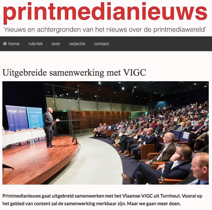 Samenwerking met Printmedianieuws.nl