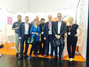 VIGC ontmoet What They Think op Duomedia stand Drupa