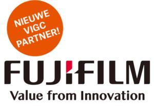 Fujifilm is strategisch partner van VIGC