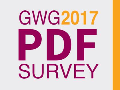 DOE MEE: Ghent Workgroup enquête rond gebruik nieuwe PDF-standaarden
