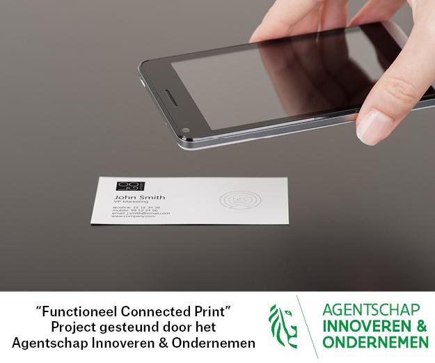 Connect! 'printed electronics' als motor voor IoT