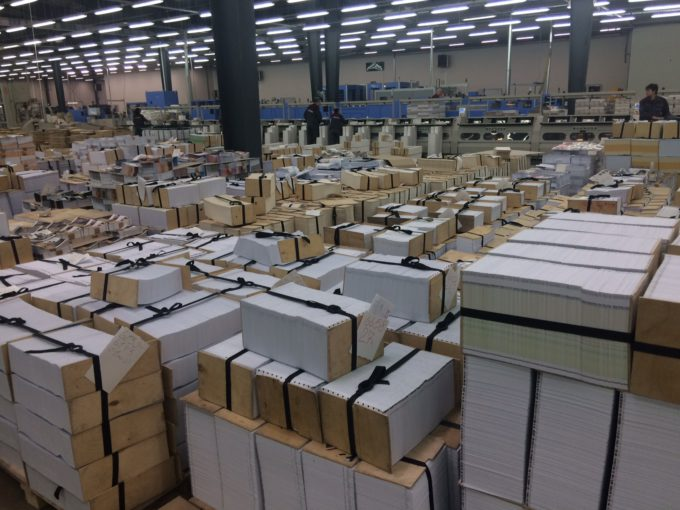 Pareto Print: 500k sqm of KODAK SONORA Process Free Plates in 15