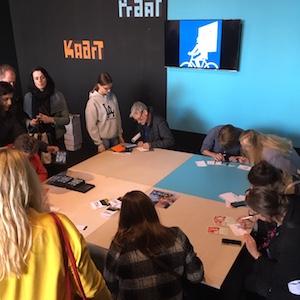 Creatieve zaken tijdens Dutch Design Week