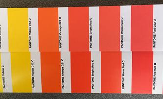 Printing brand colors