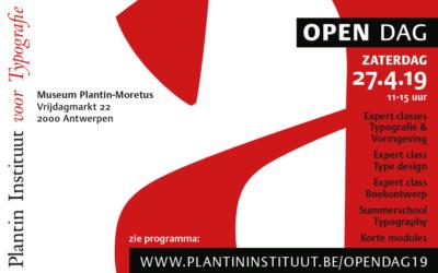 Open Dag Plantin Instituut voor Typografie