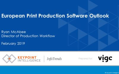 2018 European Production Software Outlook