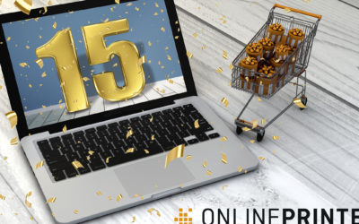 Onlineprinters viert 15 jaar e-commerce