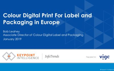 Colour Digital Print For Label and Packaging in Europe