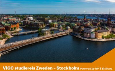 VIGC studiereis Zweden – Stockholm